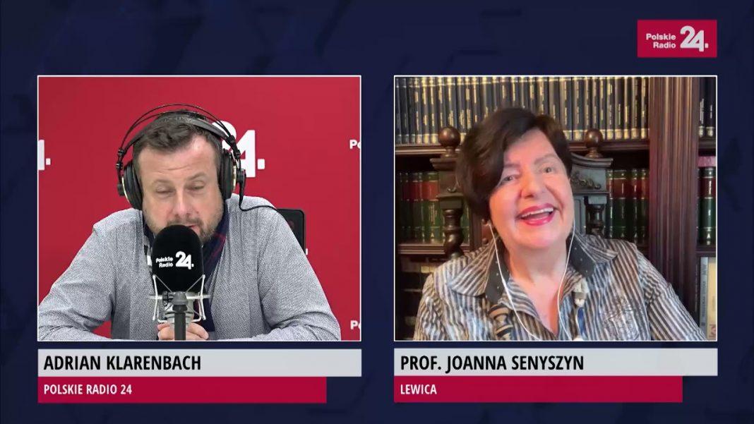 propolski.pl: [video] Joanna Senyszyn opowiada dowcip. Klarenbach zaniemówił. Tej żenady nie da się łatwo rozejść