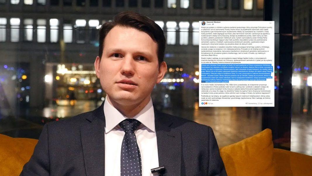 propolski.pl: Gowin potwierdził straszną teorię spiskową. Mentzen nie wytrzymał i zwyzywał go od łajdaków: Wpis jest hitem
