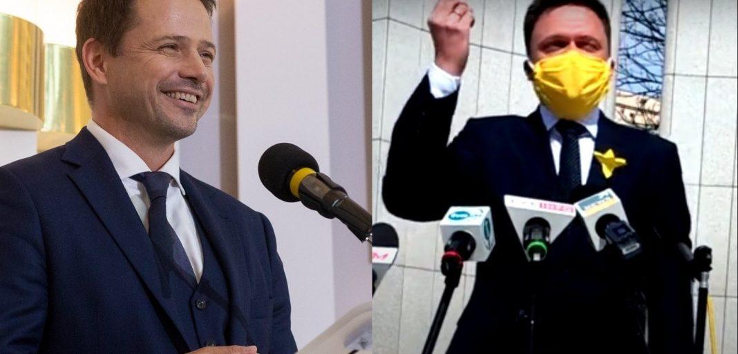propolski.pl: Trzaskowski i Hołownia mają powód do radości. Razem na czele sondażu