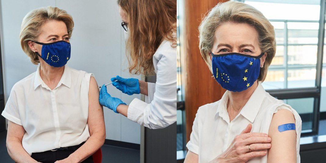 propolski.pl: Von der Leyen zaszczepiona. Szefowa KE otrzymała pierwszą dawkę szczepionki na COVID-19