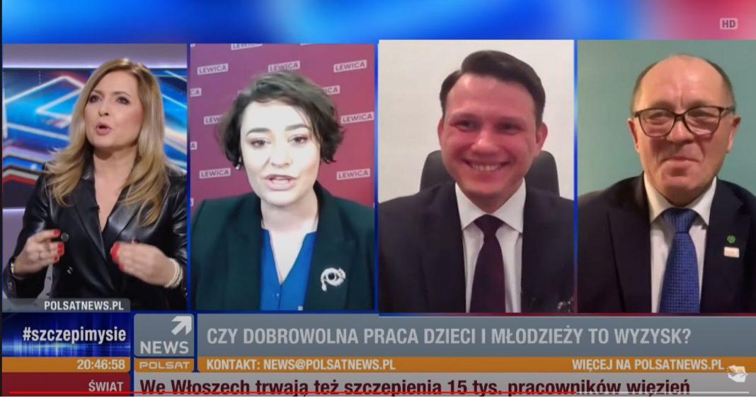 propolski.pl: [video] Posłanka Lewicy straciła panowanie nad sobą. Mentzen i Sawicki dostali ataku śmiechu