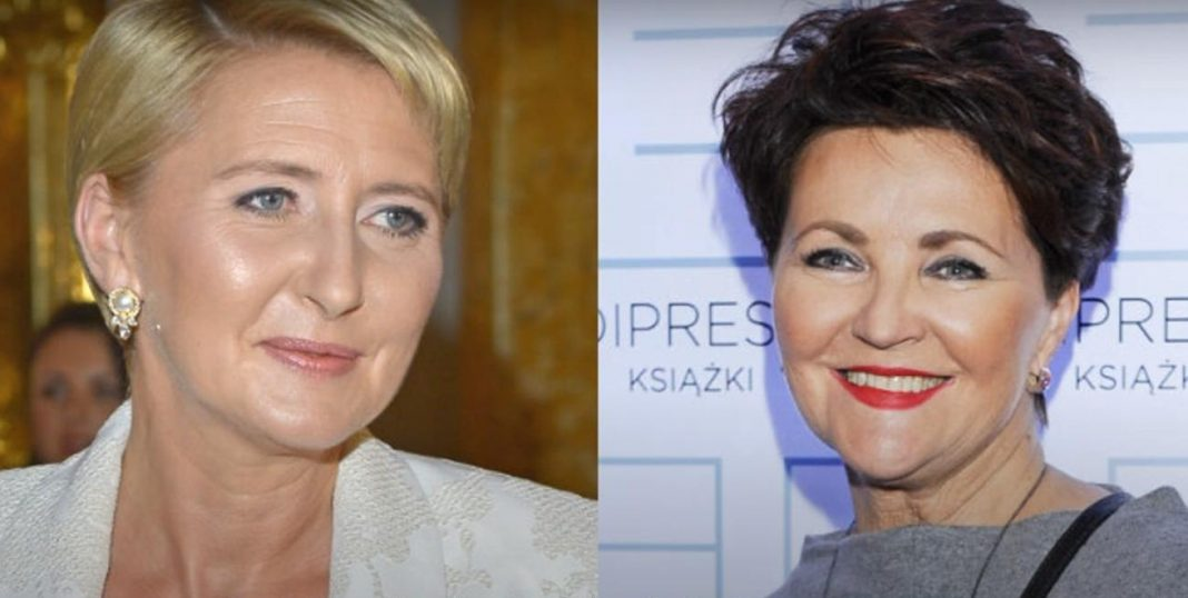 propolski.pl: Agata Duda i Jolanta Kwaśniewska