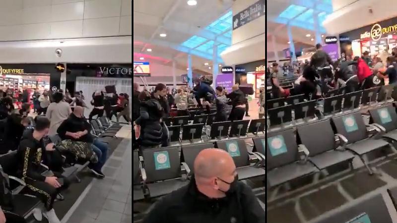 propolski.pl: Potężna bójka na lotnisku pod Londynem