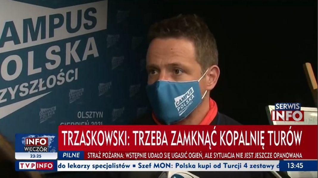 propolski.pl: Rafał Trzaskowski zapytany o decyzję Trybunału Sprawiedliwości Unii Europejskiej ws. decyzji TSUE stwierdził, że Polska nie ma innego wyjścia, jak się do niej dostosować. Do jego słów odniósł się minister Michał Wójcik.
