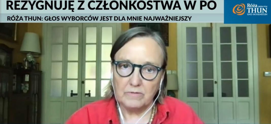 propolski.pl: Róża Thun odchodzi z PO