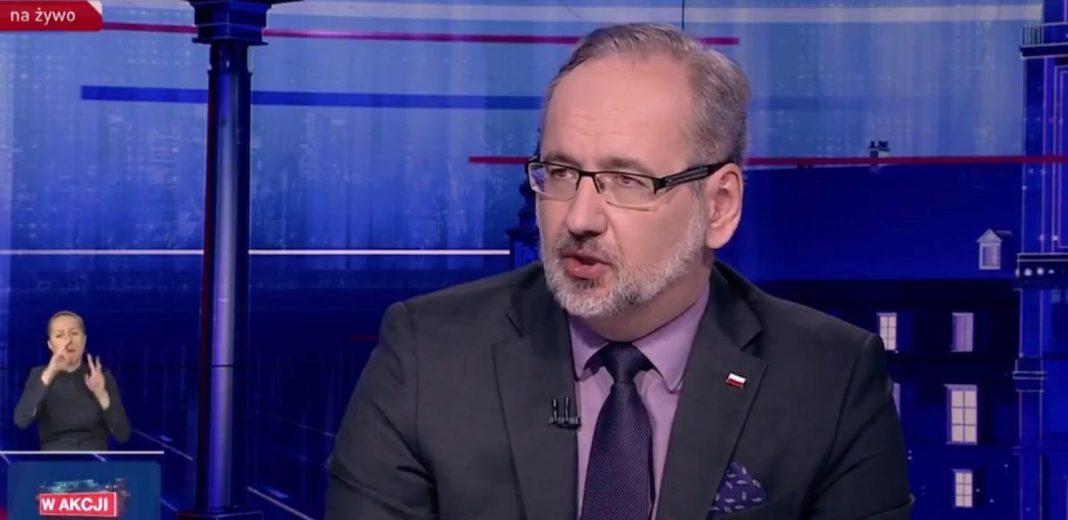 propolski.pl: Adam Niedzielski straszy powrotem obostrzeń: