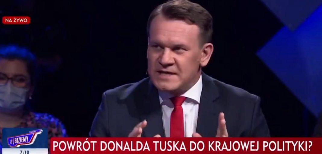 propolski.pl: Tarczyński powiedział, co myśli o powrocie Tuska: