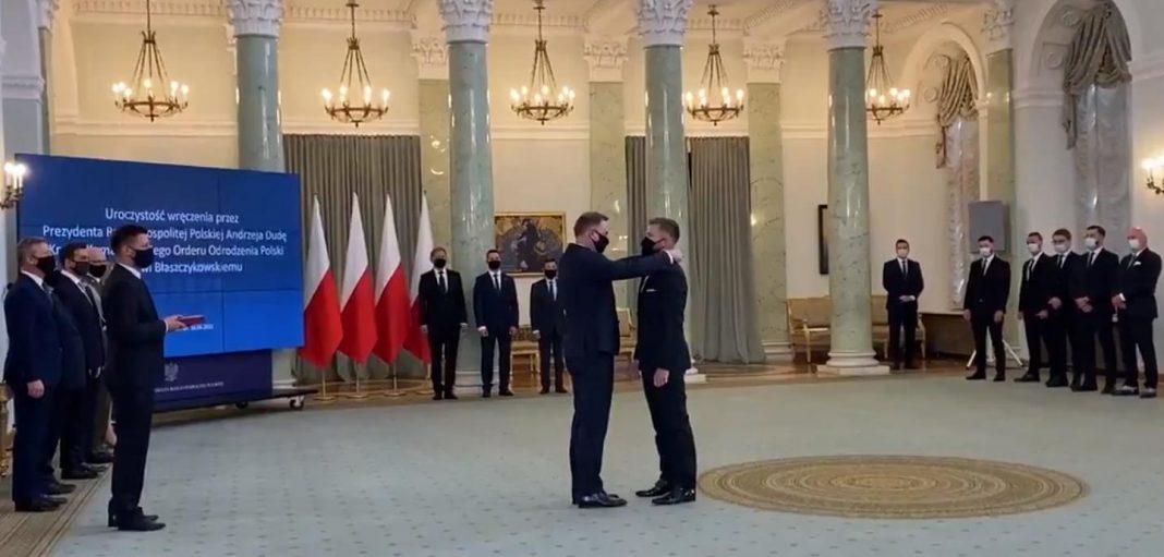 propolski.pl: Jakub Błaszczykowski odznaczony przez prezydenta Dudę: