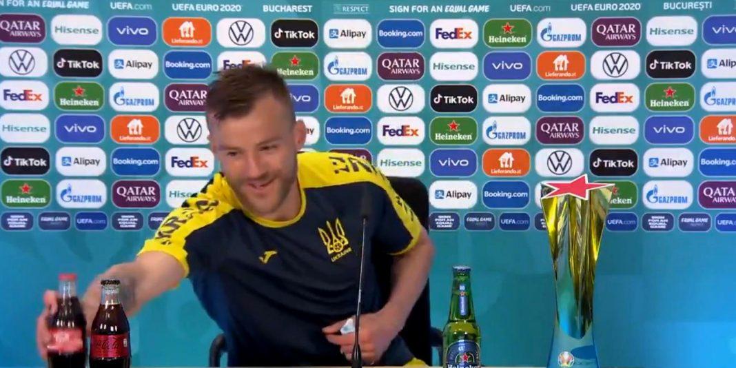 propolski.pl: Ukraiński piłkarz Andrij Jarmołenko przebił nawet Ronaldo