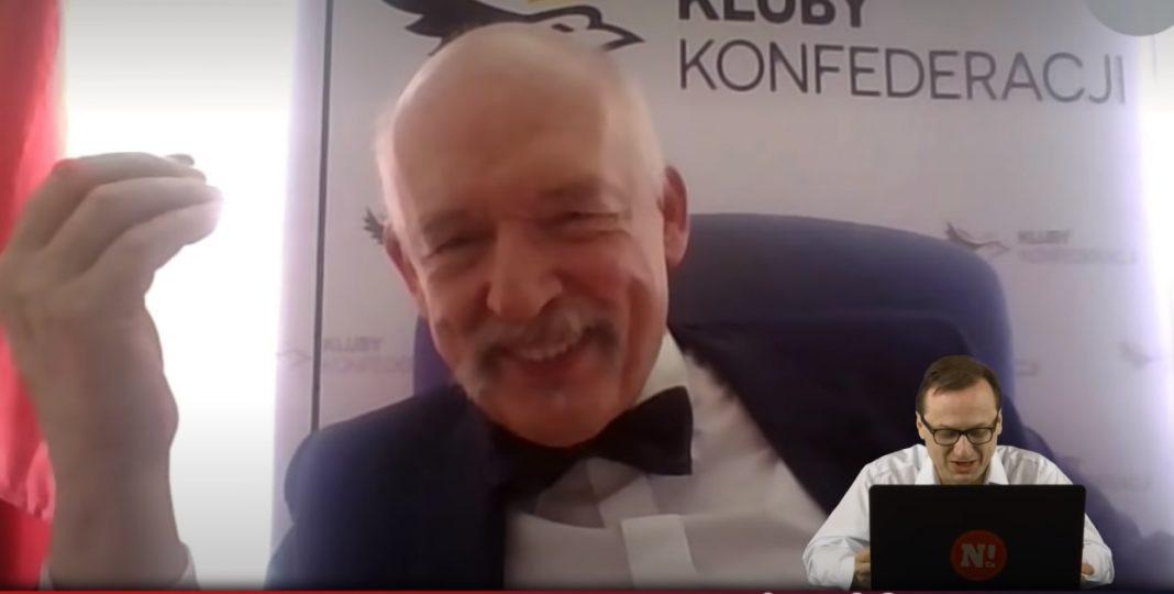 propolski.pl: [video] Korwin-Mikke strollował ambasadę USA. To, co zrobił, nie mieści się w głowie: