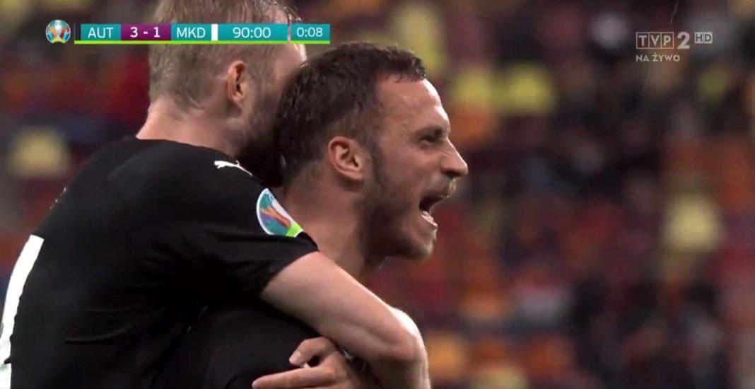 propolski.pl: Euro 2020. Skandaliczne zachowanie Austriaka. Wszyscy usłyszeli, co krzyczał po zdobyciu bramki [WIDEO]