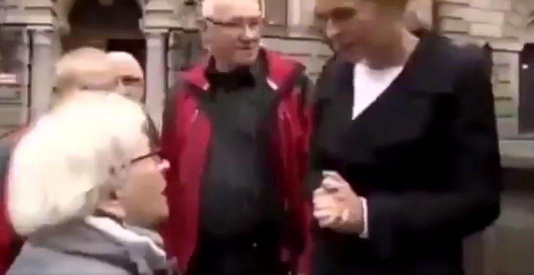 propolski.pl: Starsza Pani zagięła Nowacką: Pani młodzieży głowę zawraca. Bagaż komunistycznych bandytów za wami leci [WIDEO]