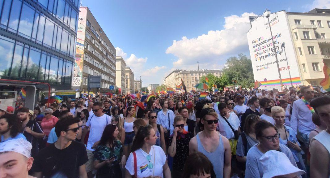propolski.pl: Trzaskowski zwrócił się do uczestników Parady Równości