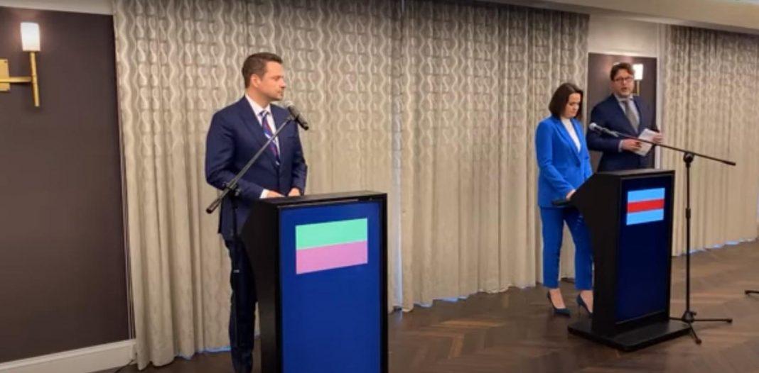 propolski.pl: Cichanouska spotkała się z Trzaskowskim
