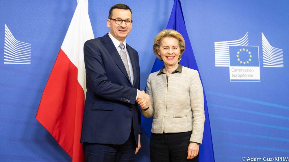 propolski.pl: Premier Morawiecki spotka się z Ursulą von der Leyen. Znamy powód