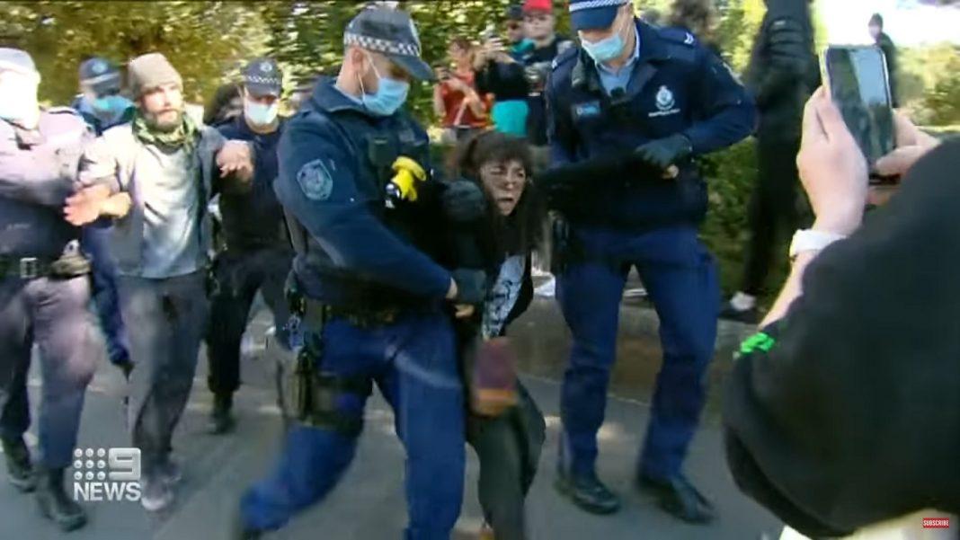 propolski.pl: Australia: Wybuchły protesty przeciwko restrykcjom sanitarnym! Rząd chce zamknąć kraj?