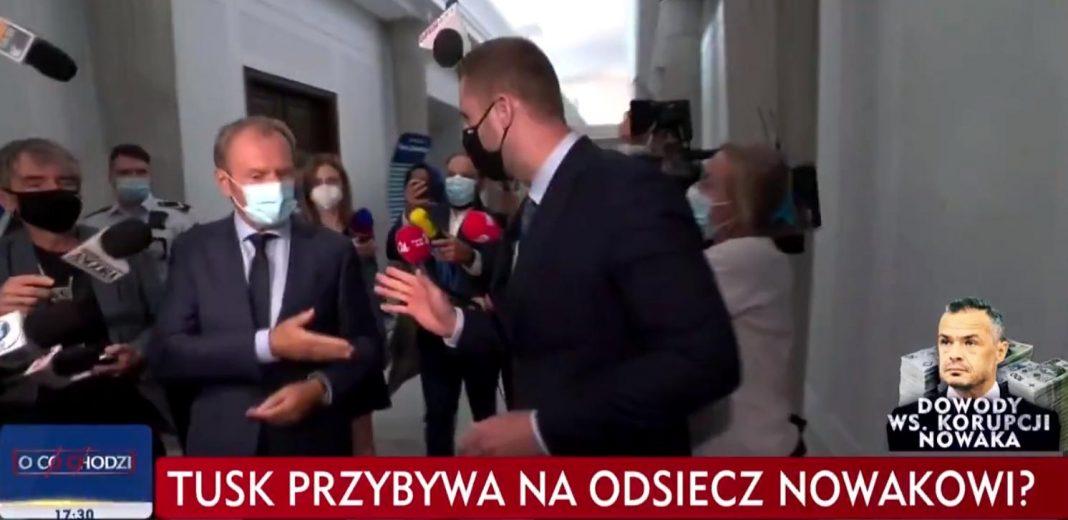propolski.pl: Tusk zaatakował dziennikarzy TVP. Takiej riposty się nie spodziewał [WIDEO]