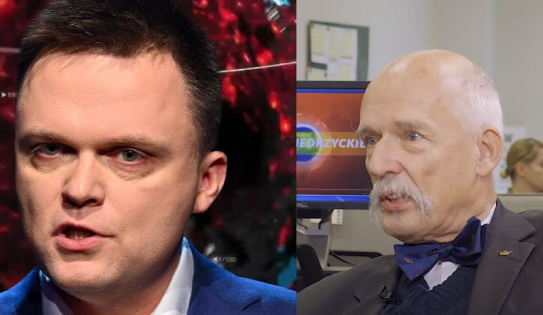propolski.pl: Korwin-Mikke nie wytrzymał: Ten IDIOTA Hołownia chce…