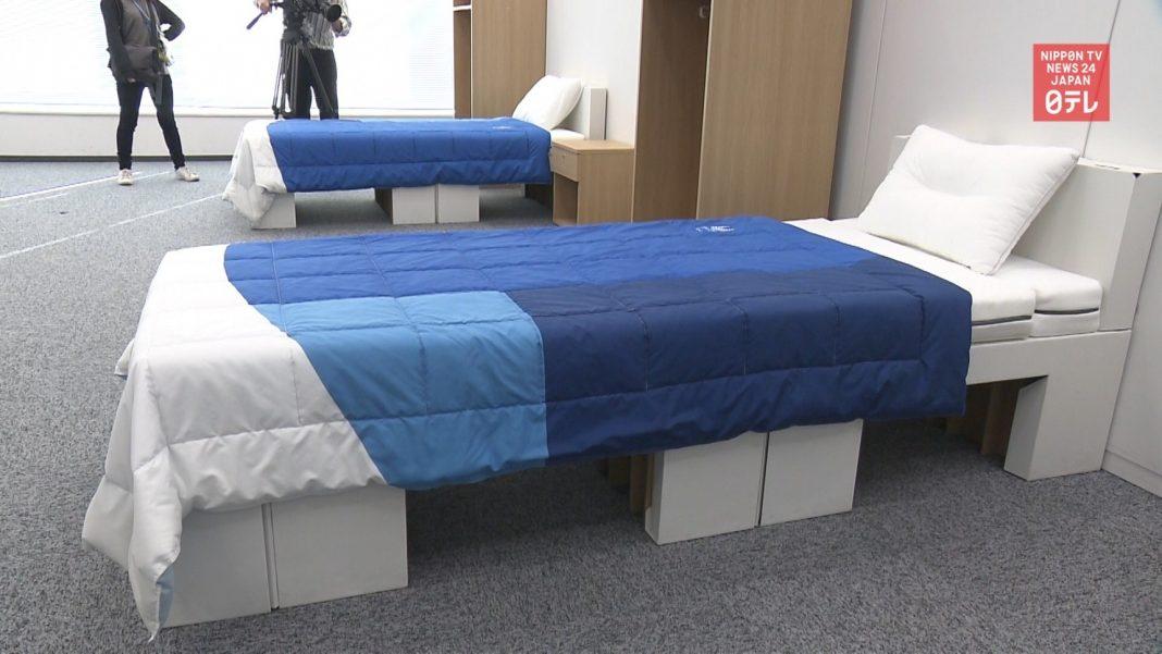 propolski.pl: Tekturowe łóżka dla olimpijczyków.