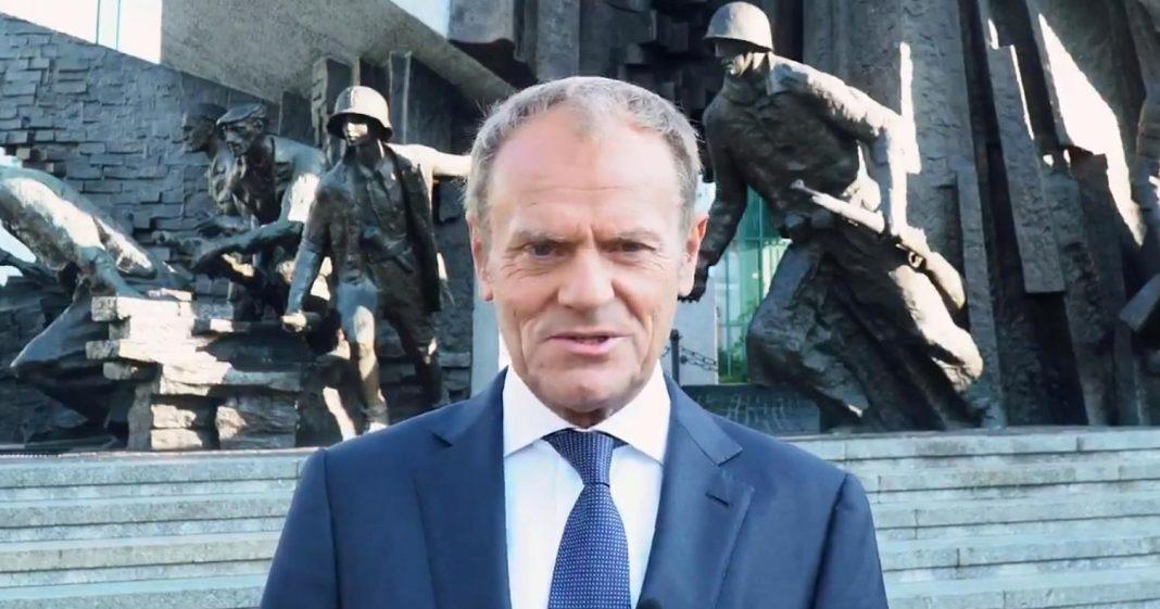 propolski.pl: Donald Tusk opublikował wideo o Powstaniu Warszawskim
