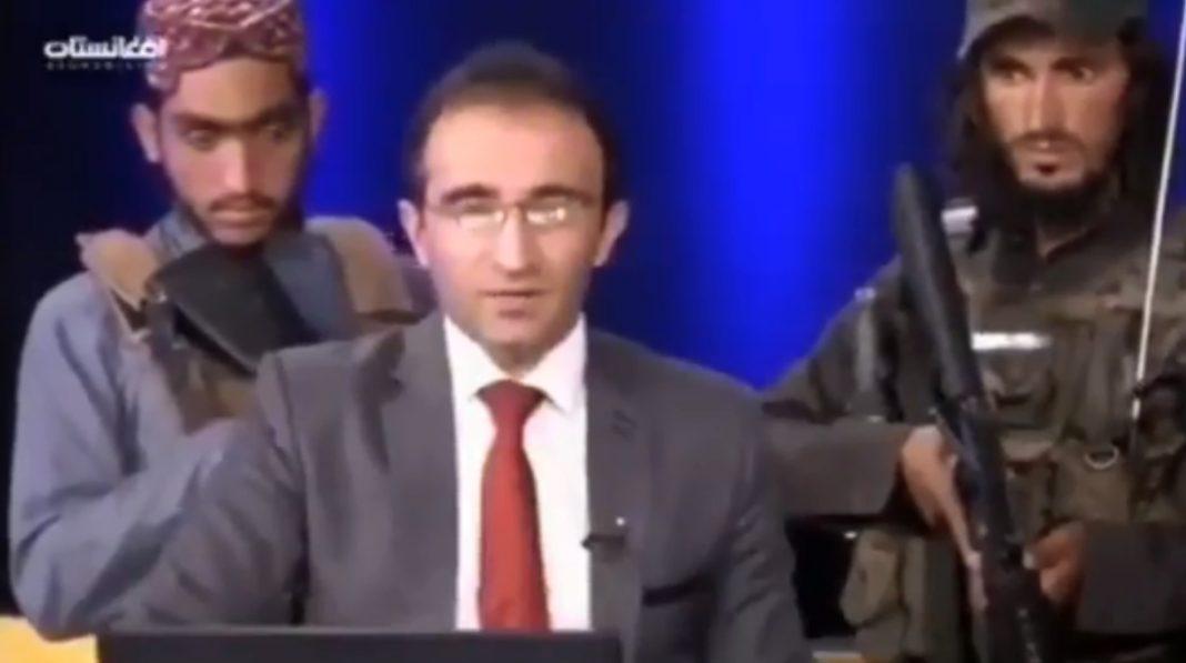 propolski.pl: [WIDEO] Uzbrojeni po zęby Talibowie w afgańskiej telewizji. Prezenter wiadomości był przerażony