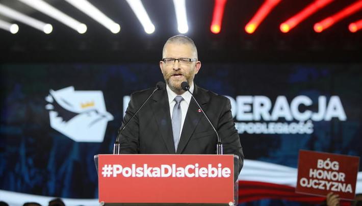 propolski.pl: Zbiórka Grzegorza Brauna bije prawdziwe rekordy