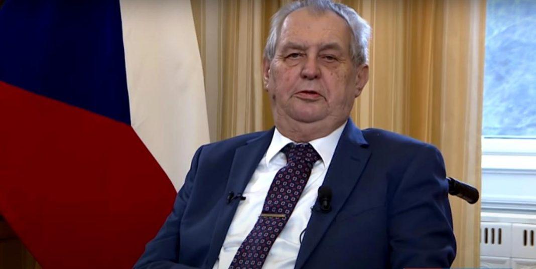 propolski.pl: Prezydent Czech Milosz Zeman trafiłdo szpitala