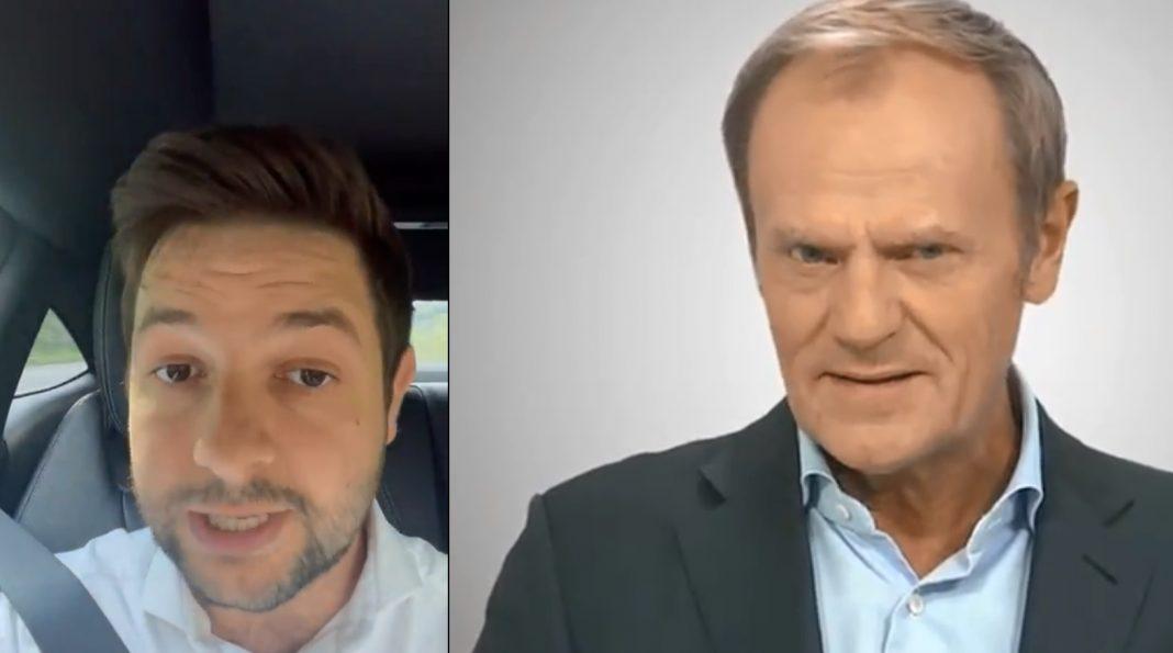 propolski.pl: [WIDEO] Patryk Jaki odpowiedział Tuskowi. Szefowi PO poszło w pięty, padły słowa o niemieckich interesach