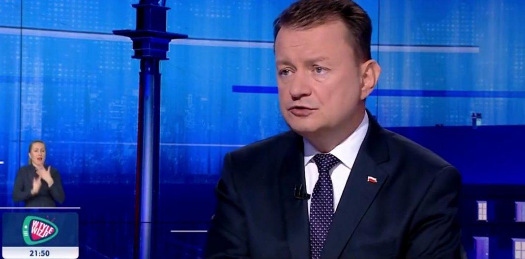 propolski.pl: Minister Błaszczak o sytuacji na polsko-białoruskiej granicy