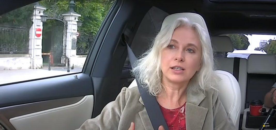 propolski.pl - Manuela Gretkowska w aucie Onet Rano, zrzut ekranu. rozmowa